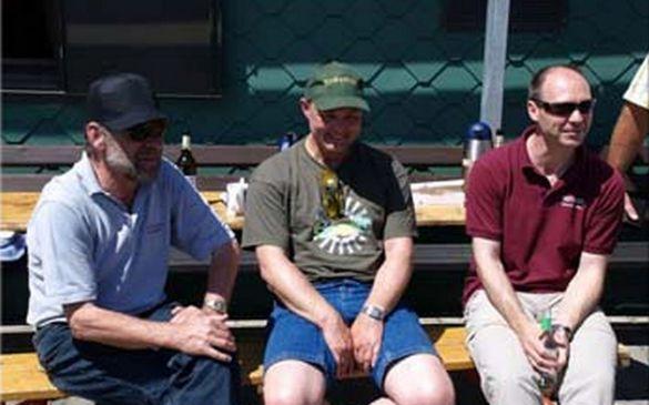 Rolf Strecker, Dr. Ralph Okon und Uwe Plettenberg...