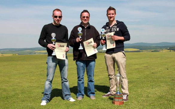 Sieger: David, Michael und Daniel