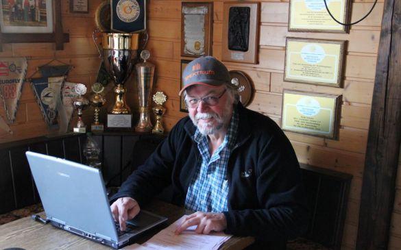 Volker fungiert schon seit Jahren als Datenerfasser