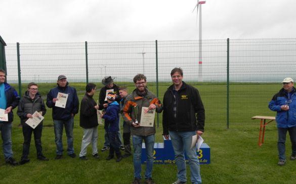 Siegerehrung 3. Platz Lukas Wenzhöfer