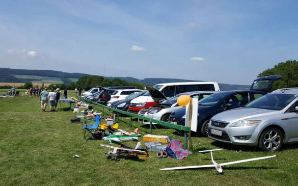 Freundschaftsfliegen 26.05.2018 in Kettenbach