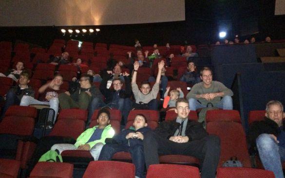 IMAX Kino: Gleich gehts los