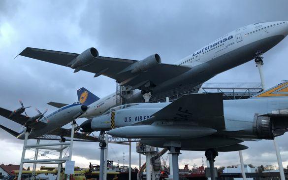 Boeing 747 die Attraktion in Speyer
