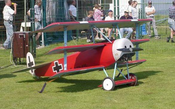 60 Kg schwere Focker DR1