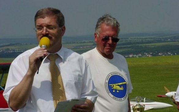 Bürgermeister Norbert Bezier und 1. Vorsitzender MFG Norbert Kern