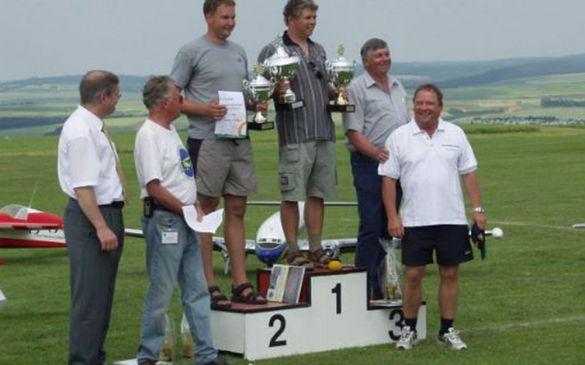 Stephan Völker erreichte den 1. Platz, Thomas Gleißner den 2. Platz und Klaus Dettmer den 3. Platz