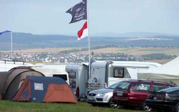 Teilnehmer-Camp über Kirberg