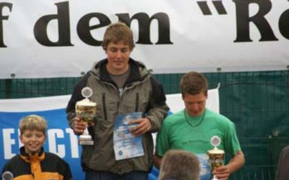 Sieger der Motor-Junior-Klasse