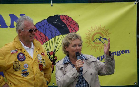 sowie die Schirmherrin, Bürgermeisterin Frau Scheu-Menzer