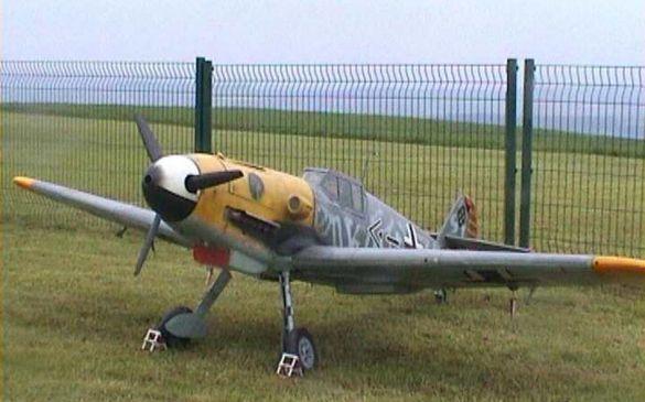 Imposant, nicht zuletzt wegen der Größe, war auch die ME 109
