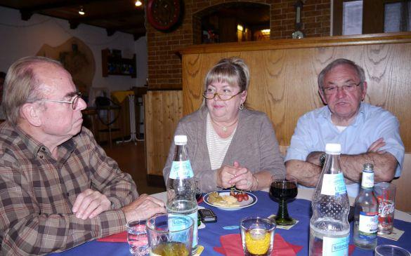 Reiner, Liane und Volker