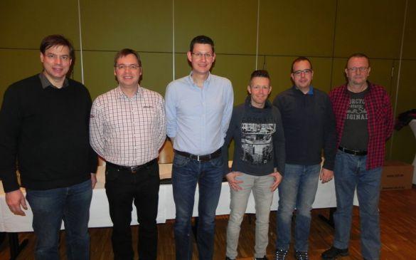Der Vorstand der MFG Goldener Grund e.V.2017