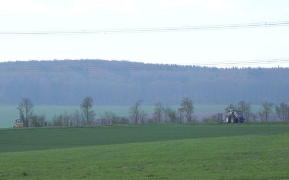 Arbeiten am Zufahrtsweg durch die Gemeinde Hünfelden haben begonnen