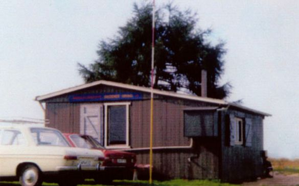 Unsere Hütte vor 1992...