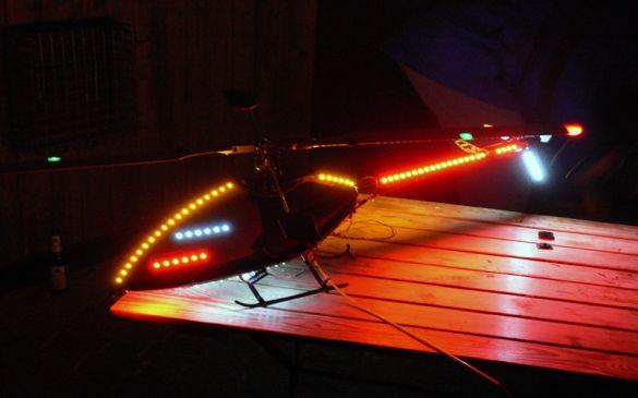Flugtag 2006, Nachtflug-Hubschrauber