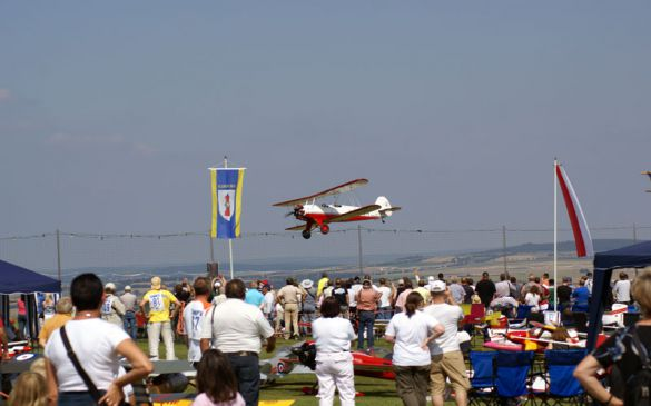 Flugtag 2006, Doppeldecker Überflug