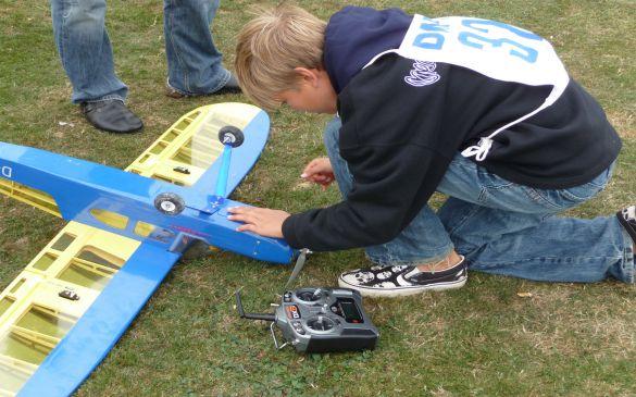 Deutsche Jugendmeisterschaft, Flugvorbereitungen