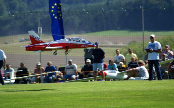 Flugtag 2010, Jet-Modell Überflug