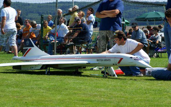 Flugtag 2010, Concorde Michael Bräuer