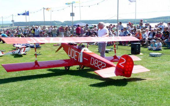 Flugtag 2011, Udet