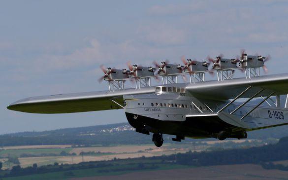 Flugtag 2014, Dornier Do X Verkehrsflugschiff, Nahaufnahme
