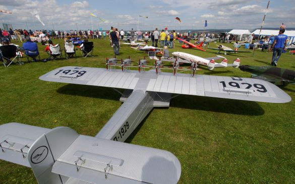 Flugtag 2014, Dornier Do X in Warteposition