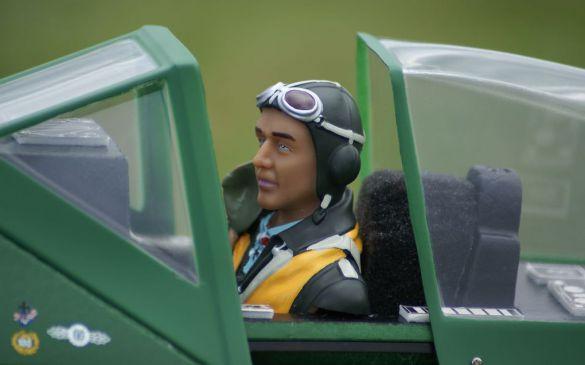 Pilotenpuppe der Deutschen Luftwaffe